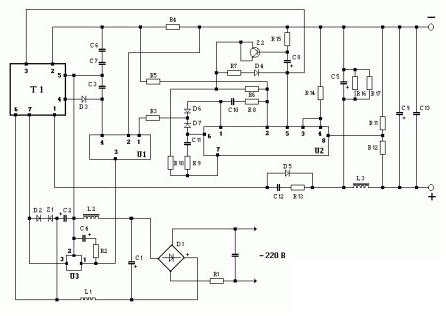 схема зарядного устройства старт 2