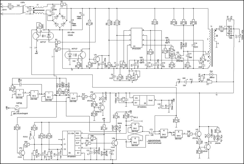 Электрическая схема водонагревателя thermex rzb50-f
