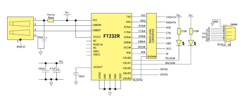 Переходник USB – com (RS232)