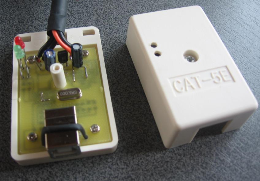 Схема USB k-line адаптера на