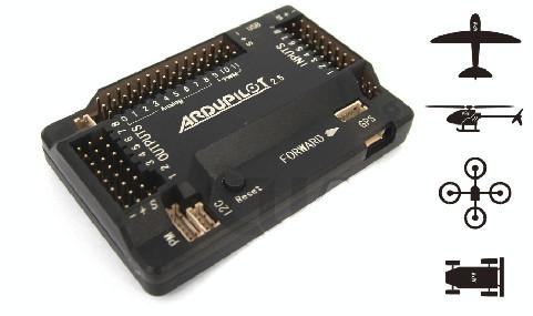 Принципиальная схема полетного контроллера ArduPilot Mega 2.5